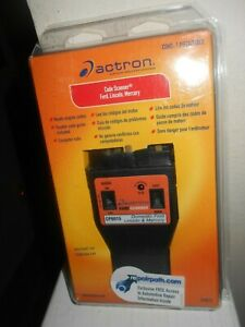 Actron Cp9015 Code Scanner Reader Book Ford Lincoln Mercury New
