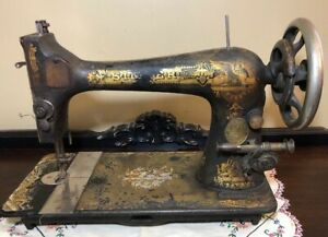Antique Singer Treadle Sewing Machine Sphinx Decal