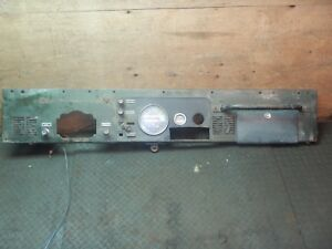 Jeep Cj 76 86 Green Oem Interior Metal Plate Dash Plate Free Shipping