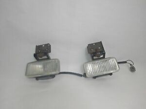 Jeep Grand Cherokee Zj 96 98 Oem Fog Light Lamp Pair Free Shipping