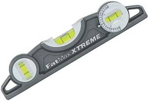 Stanley 43 609 Mm 9 Fatmax Xtreme Tpd Level Magnetic Torpedo Level 22 5 Cm