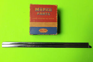 1937 1939 Plymouth Dodge Coupe 1 4 Window Division Bar Oem Mopar 749620 Right
