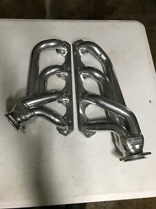 Sanderson Ceramic Headers Blockhugger Header Ff6302 Sec Ford 289 302