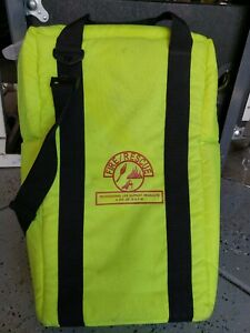 Extra Large Firefighter Rescue Gear Or Oygen Bag neon Bright Green