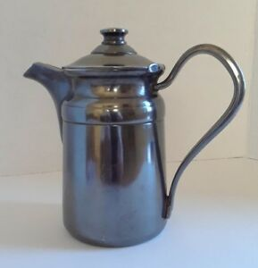 Antique Reed Barton Silver Soldered Pitcher