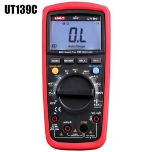 Ut139c True Rms Digital Multimeter Handhold Dc Ac Voltage Current Test Device