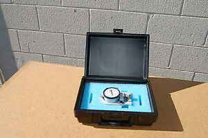 Dillon Model X Compression Force Mechanical Gauge XC 250lb Gage Calibrated $399.99