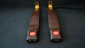 Toyota Land Cruiser Fj60 Fj62 Front Seat Belt Brown Receivers