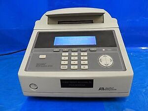 Abi 9700 Geneamp Pcr Cycler Silver Block 96 Tnu Tested And Calibrated