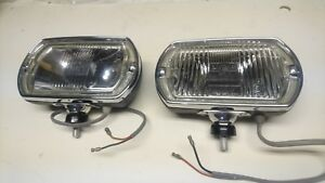 Nos Lucas Square 8 Fog Spot Lights Shelby