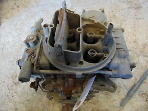 1970 Chrysler 440 Holley List 4360 2 Carburetor