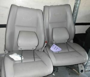 Front Driver Leather Seat Fits 05 06 07 08 09 10 Grand Cherokee Overland Edition
