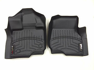 Weathertech Custom Car Truck Floor Mat Floorliner 446971 1st Row Black