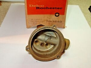 Nos 1959 61 Olds 2bbl Rochester Carburetor Choke Thermostat Housing 7013540