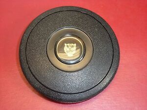 Single Contact Horn Button Black With Jaguar Logo Nardi Steering Wheel Center