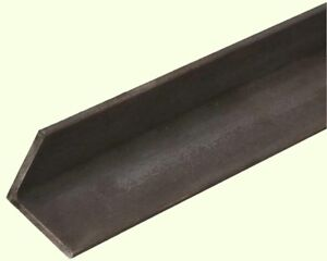 Steel Angle Iron 1 4 X 2 X 6 Ft Hot Rolled Carbon Steel 90 Stock Mill