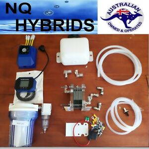 Hho Hydrogen Generator Diy 11 Plate Mini Exstreme Ideal For Small 4 X 4