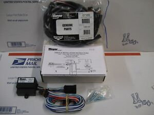 Meyer Plow Nite Saber Lights 99 02 Gm With Drl Headlamp Adapter Module Kit 07108