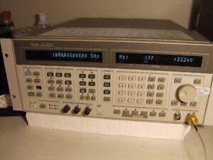 Hp 8644b Synthesized Signal Generator