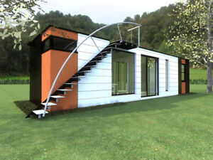 1 Bd 1 Bth 320 Sq Ft Modern Shipping Container Home Seller Financing