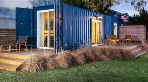 40 ft Shipping Container Home 1 Bd 1 Bth With Kitch liv 320 Sqft