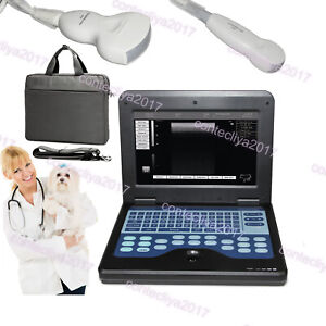 Veterinary Laptop Ultrasound Machines Scanner 3 5mhz Convex micro Convex 2 Probe