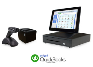 Retail Point Of Sale System Quickbooks Pos V18 Basic Wireless Scanner Bundle