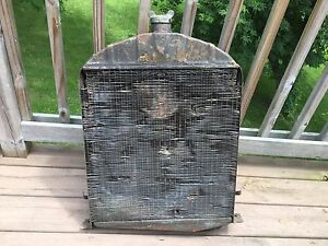 Model A Ford Radiator Coupe Sedan Roadster Pickup Hot Rat Rod Banger 28 29