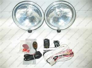 6 Round Off Road Auxiliary Bar Lamps 4x4 Driving Lights Kit