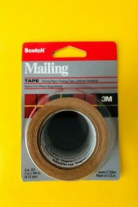 12 Pack 3m Scotch Tan Packing Shipping Tape Heavy Duty Mailing Boxes Sealing