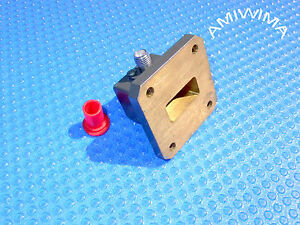 Transition Microwave Adaptor Waveguide Wr 75 Coax Sma Ku band Atm 10 14 15 Ghz