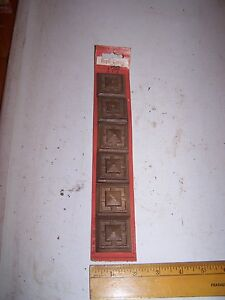 1970 Original Furniture Decorative Trim Molding Parts Pieces Corner 35