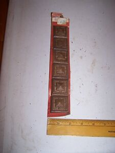 1970 Original Furniture Decorative Trim Molding Parts Pieces Corner 20