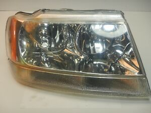 Jeep Grand Cherokee Wj 99 04 Passenger Head Lamp Headlight Right Oem