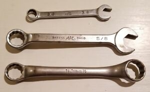 Snap On Mac Tools Misc Wrenchs Lot Of 3