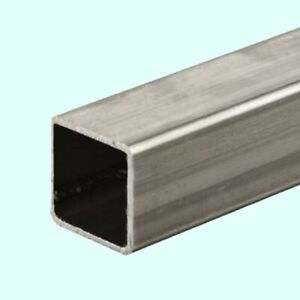 Stainless Steel Hollow Square Tube 3 4 I d X 1 O d X 6 Ft Long 120 Wall