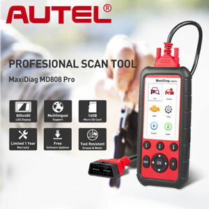 Autel Md808 Pro Diagnostic Scan Tools Code Reader Scanner Epb Abs Can Dpf Obdii