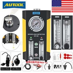 2019 New Autool Sdt206 Car Smoke Machines Pipe Leak Smoke Detector Evap System