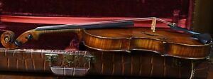 A Superb Fine Old Violin Leandro Bisiach 1892