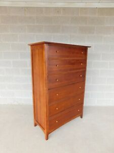 Thomasville Impressions Arts Crafts Mission Style Tall Chest