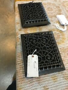 Tc 115 2 Av Price Each Antique Cast Iron Wall Mount Heating Grate 9 25 X 11 1 8