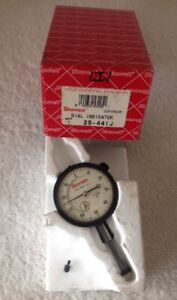 Starrett Dial Indicator Model 25 441j 1 000 Range 0 001 Graduations With Box