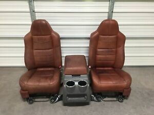 1999 2010 Ford F250 F350 F450 Super Duty King Ranch Front Seats