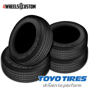 4 X New Toyo Open Country A20a 245 65 17 105s Touring All Season Tires