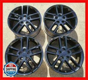 Chevy Impala Limited Factory Oem Wheel Set 18 Rims 5333 Gloss Black s