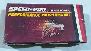 Sealed Power 4 165 In Bore Speed Pro Piston Rings R10375 40 400 Chevy 402