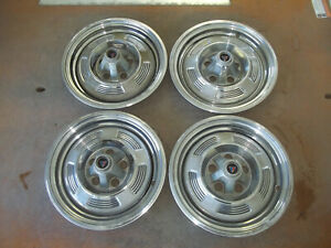 1965 65 Plymouth Barracuda Valiant Hubcap Rim Wheel Cover Hub Cap 13 Oem 559 4