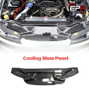 Carbon Fiber Gara style Cooling Slam Panel Cover Add on Kits For Nissan S15