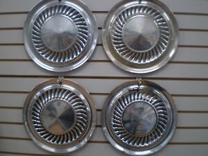 1959 Ford Galaxie 59 60 Thunderbird Wheelcover Wheel Covers Hubcaps Oem Set 59