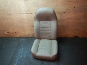 Jeep Wrangler Cj Yj Tan Aftermarket Front Seat Free Shipping